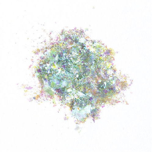 Pigment Mermaid Flakes, Aqua