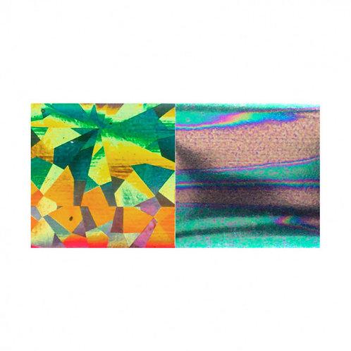 Foil DUO Green-Gold Diamond / Green-Gold Petrol