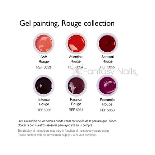 Prisma Gel Painting ROUGE Collection 5 ml (UV / LED)