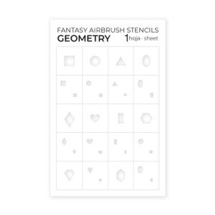 Airbrush Stencils Geometry