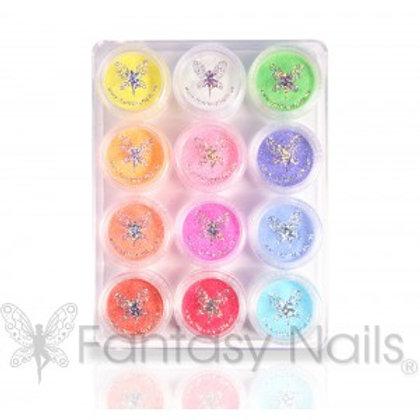 Glitter Kit of 12 colors GLITTER DUST