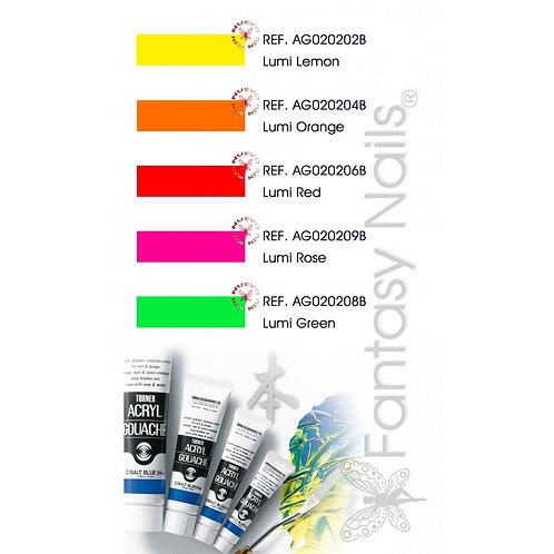 Peintures acryliques Turner - Lumi 20 ml *