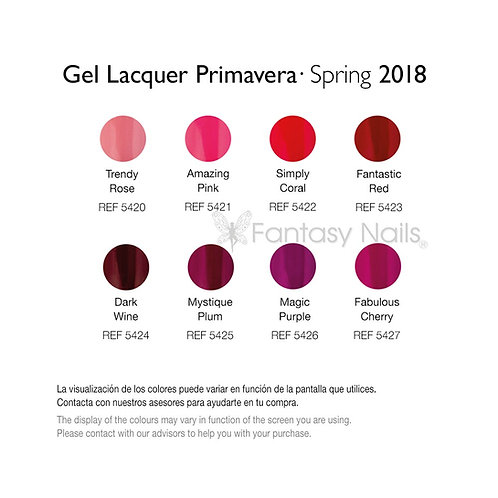 Gel Lacquer Spring Collection 2018