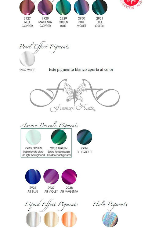 Pigments Effects Kit 2 Fantasy, 8pcs/2gr