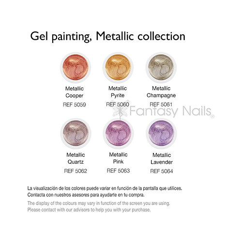 Prisma Gel Painting Metallic Collection 5 ml (UV / LED)