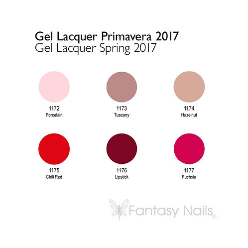 Gel Lacquer Collection Printemps 2017 - 15 ml (UV / LED)