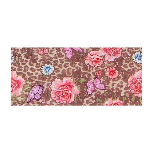 Foil Floral - LEOPARD ROSE