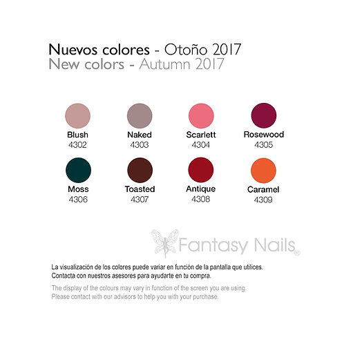 Gel Lacquer Collection Automne 2017 - 15 ml (UV / LED)