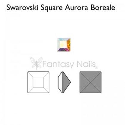 Swarovski Square Aurora Boreale