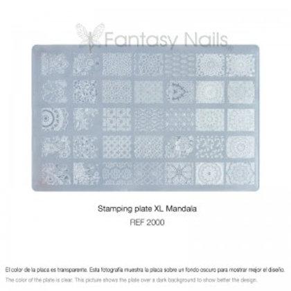 Plaque Stamping XL - MANDALA