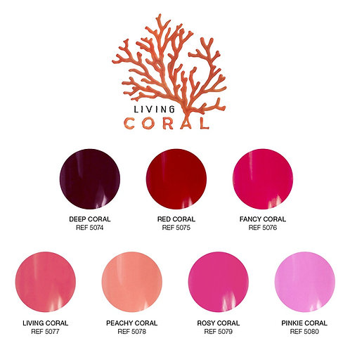 Gel Paintings, Living Coral Collection