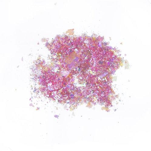 Pigment Mermaid Flakes, Pink