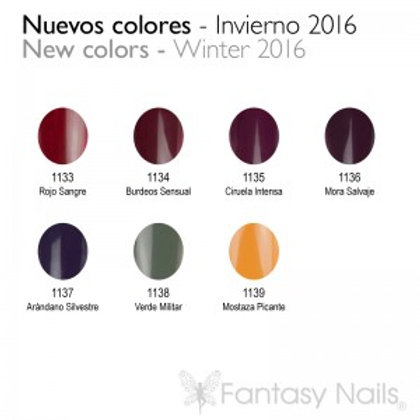 Gel Lacquer Collection Hiver 2016 - 15 ml (UV / LED)