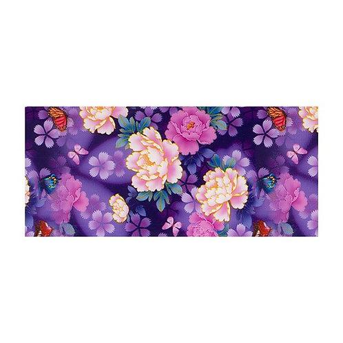 Foil Floral - PURPLE PEONY