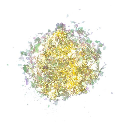 Pigment Mermaid Flakes, Gold