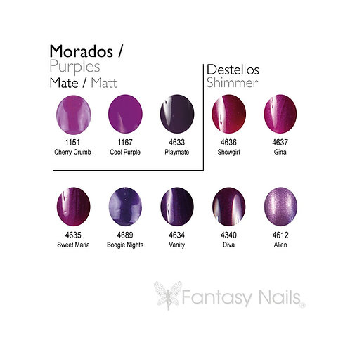 Gel Lacquer Collection Violet - 15 ml (UV / LED)