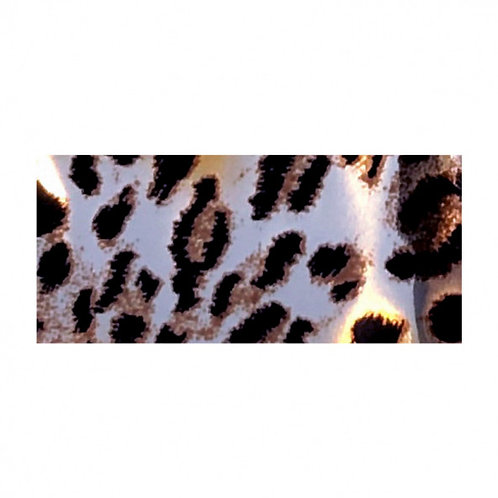 Foil LEOPARD GOLD/SILVER