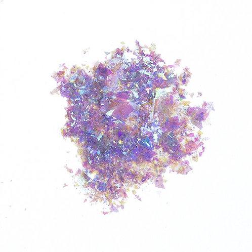 Pigment Mermaid Flakes, Purple
