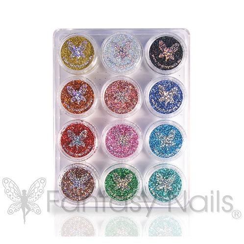 Glitter Kit of 12 colors MAGIC