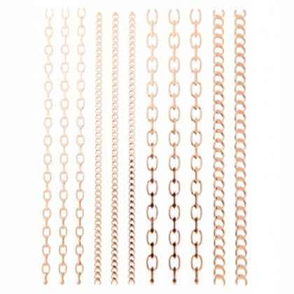 Stickers Chains Large Rose Gold