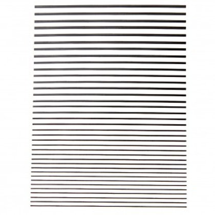 Stickers Stripes Black