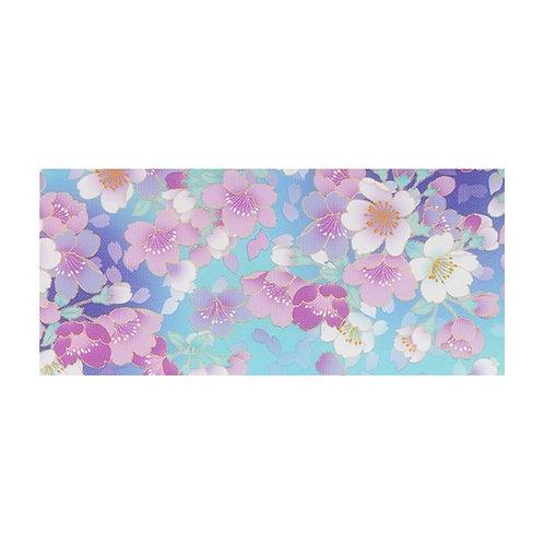 Foil Floral - BLUE SAKURA