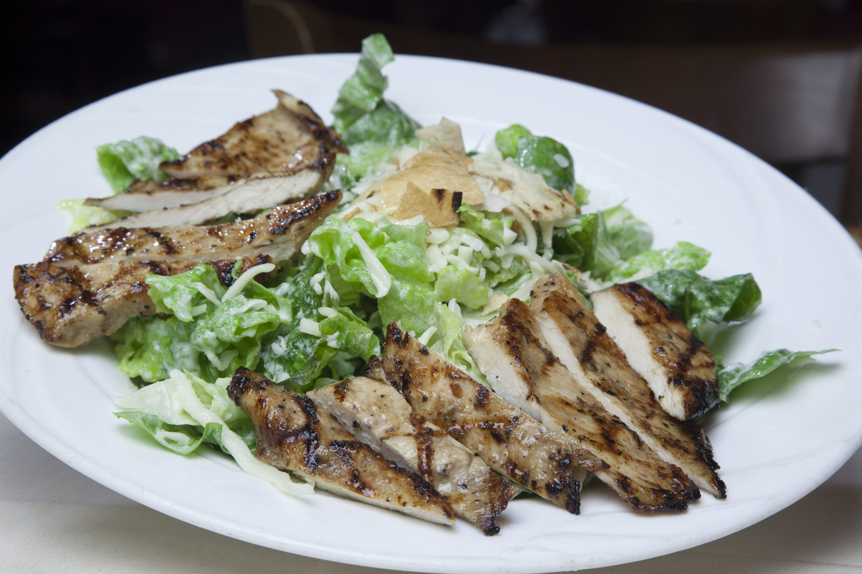 Caeser Salad w/ Grilled Chicken