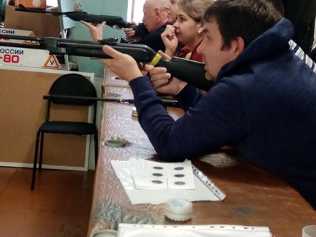 Круглогодичная спартакиада среди КФК: пулевая стрельба