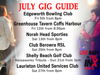 Rockin' out July with 6 big shows!