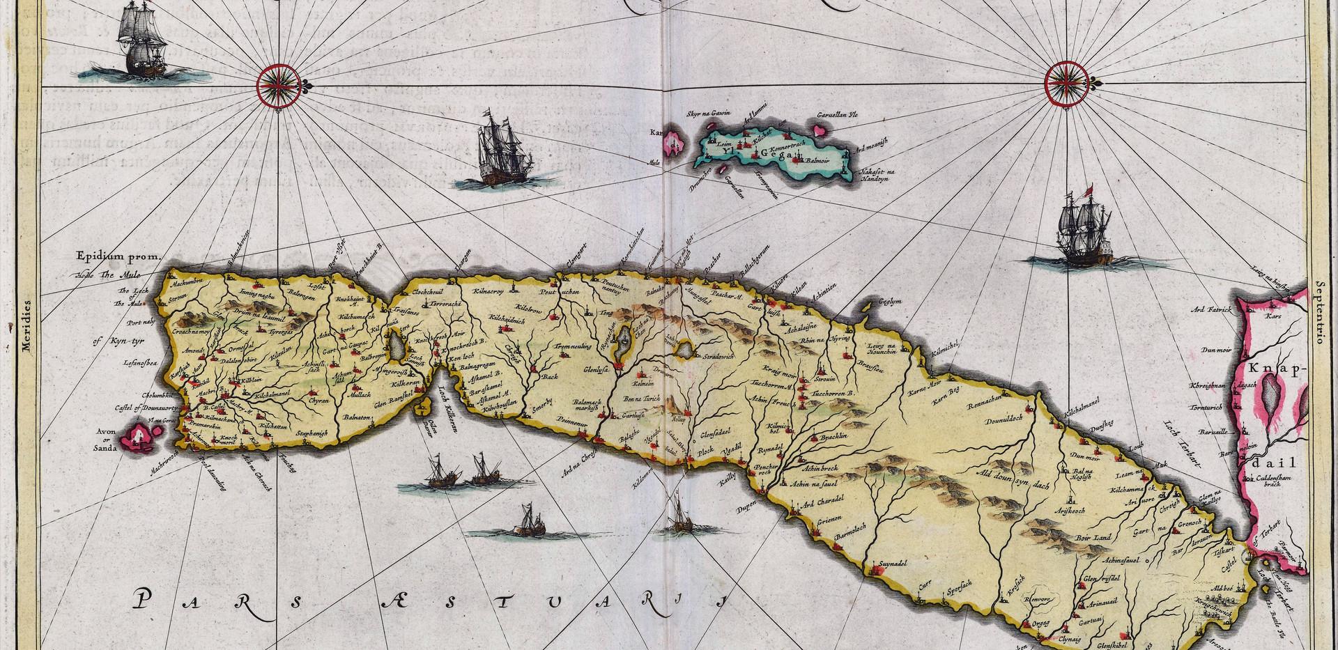 14. Map Joan Blaeu Cantyra 1662