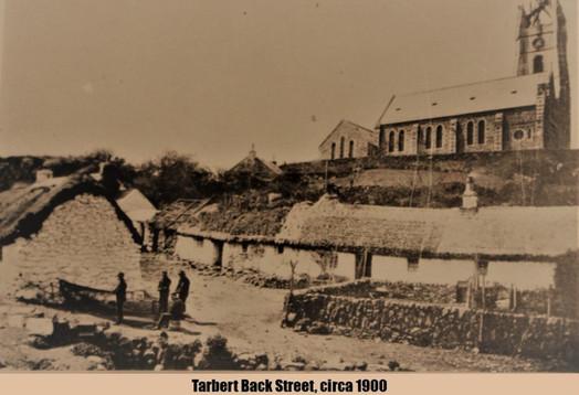 6. Tarbert Back Street, circa 1900