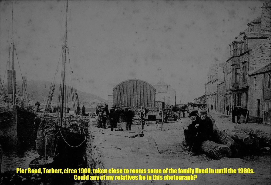 5. Pier Road, Tarbert, circa 1900