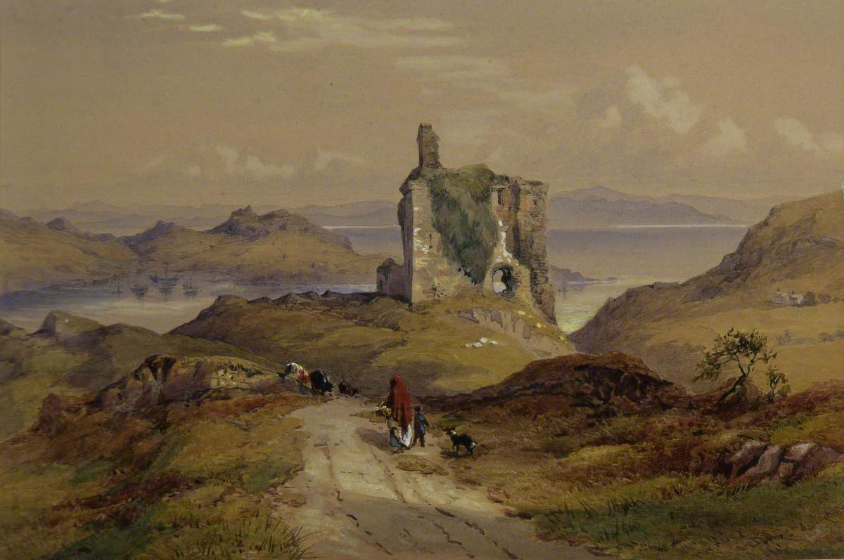 25. Tarbert Castle, by Thomas Richardson