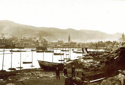 7. Fishermen Tarbert  1930s.