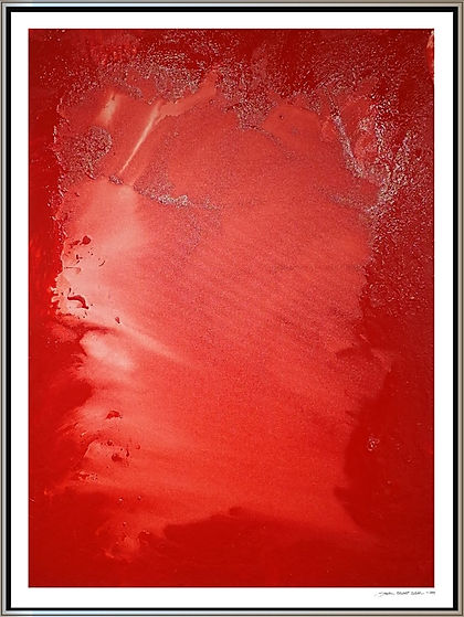 """Red Tide I"" by Stephen Elliott Webb - 2014"