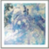 """Stephen Elliott Webb painting """"Le Bleu"""" - www.StephenElliottWebb.com"""