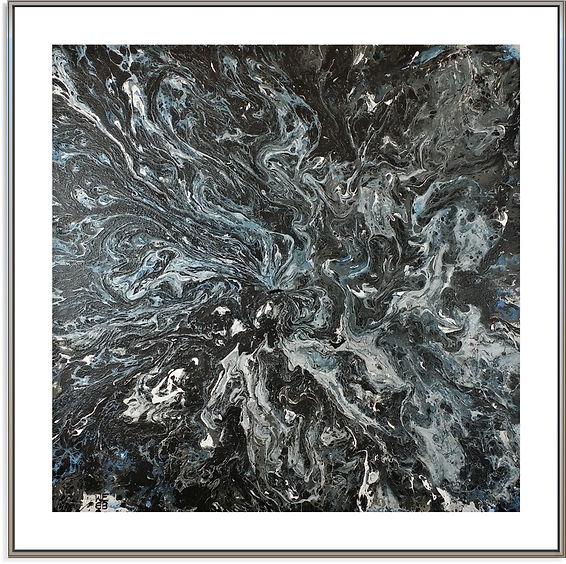 """Blue Nocturne"" by Stephen Elliott Webb - 2015"