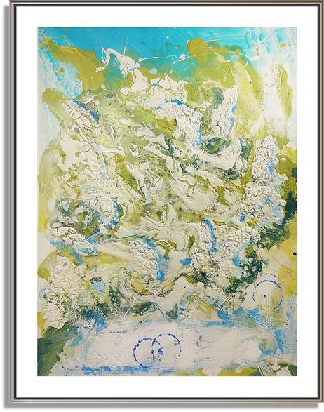 """Stephen Elliott Webb painting """"Andros"""" - www.StephenElliottWebb.com"""
