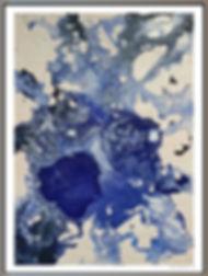 """""""Glacial Eddie I and II"""" by Stephen Elliott Webb - 2014"""