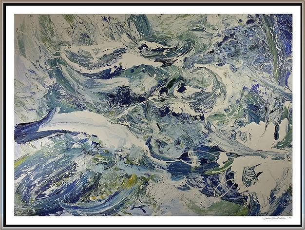 """Estuary Frieze"" by Stephen Elliott Webb - 2014"