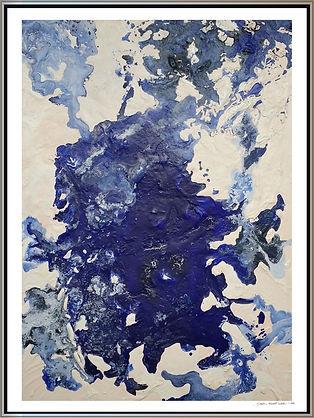 """Stephen Elliott Webb painting - """"Glacial Eddie I"""" www.StephenElliottWebb.com"""