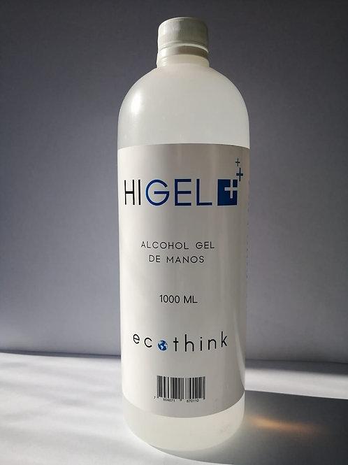 ALCOHOL GEL DE MANOS  1000 ML