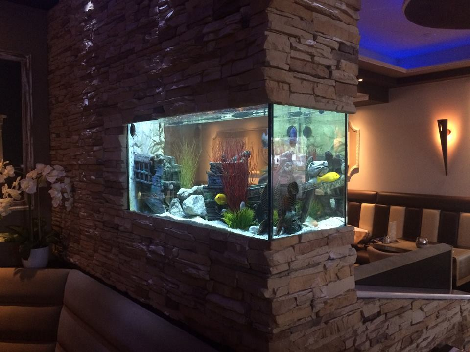 Restaurant stone wall project_HVP AQUA