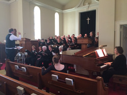 Warm-up for Spring 2015's concert
