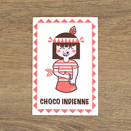 CARTE CHOCO INDIEN 2