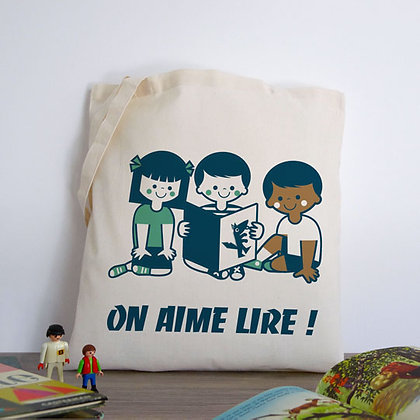 Grand Sac - On aime lire ! (version3)