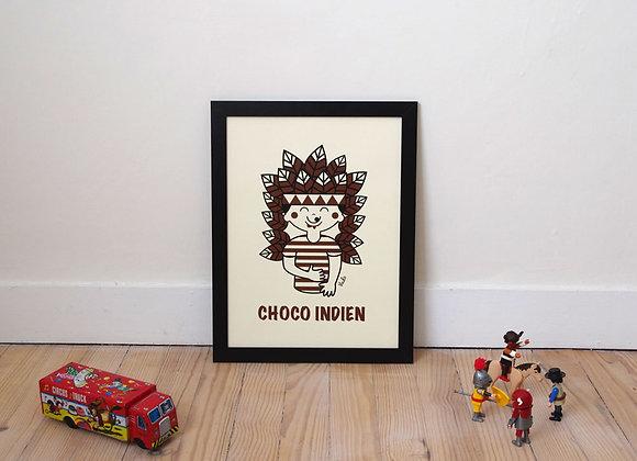 Affiche Choco-Indien