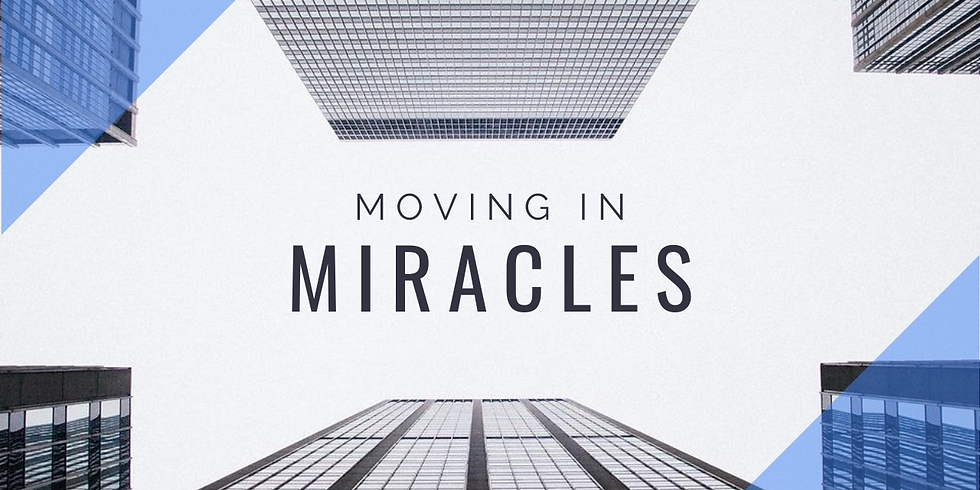 CHINESE: Moving in Miracles - Believe what God says about You