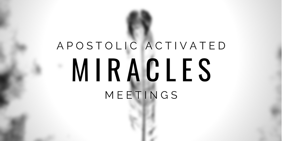 Chinese: Apostolic Activated Miracles 1