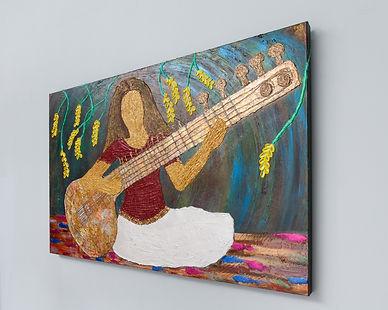 Vasundhara painting